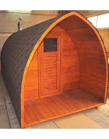 Stogelis virš saunos durų (ilgis: 0,7 - 1,0 m)